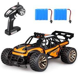 Aandyou Auto Radiocomandata,2.4Ghz RC Auto,RC Car Alta Velocita Monster Truck Telecomando con 2 Batt