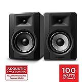 """M-Audio BX5 D3 Pair - Par de Monitores / Altavoces activos de estudio bidireccionales, 100 W con woofer de 5"""" para producción musical y mezcla de música, con función Acoustic Space Control incorporado"""