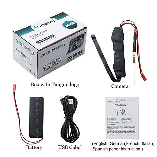 Caméra Espion WIFI TANGMI 1920x1080P HD Mini Caméra Cachée Sans Fil Détection de Mouvement Caméscope DV DIY 7/24 Heures de Travail Android i... 10