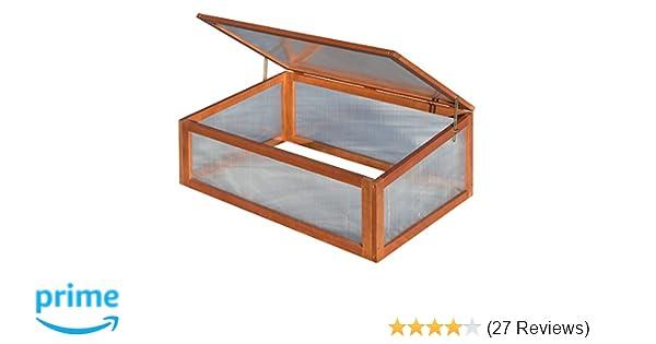Rowlinson Single Hardwood Cold Frame | Siteframes.co