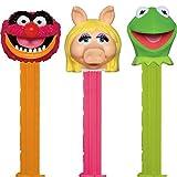 The Muppets Pez distributeur avec deux REFILS (vendu à l'unité, un seul caractère FOURNI AU HASARD)