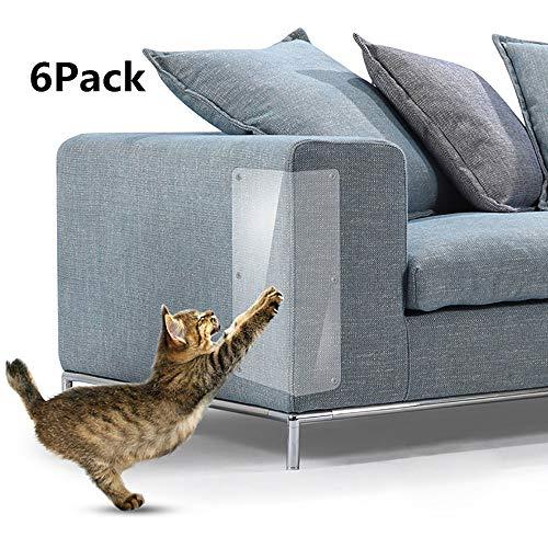 6 pezzi di protezione per mobili per Cat Scratching Couch Guard da Cats Repellente Artiglio divano...