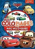 Cars, mes coloriages avec des stickers
