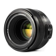 Yongnuo YN 50MM F1.8 Lente Objetivo (Apertura F/1.8) para Nikon DSLR Cámara Fotografía, Enfoque Automático de Gran Apertura + WINGONEER difusión