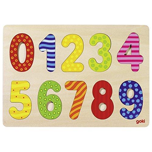 Puzzle à Numeri 0-9 - GOKI - 57574