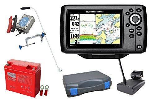 Humminbird Helix 5 XD GPS Echolot (50/200 kHz) Portabel-Set XXL-2