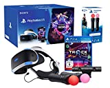 "PlayStation VR2 (CUH-ZVR2) ""Starter Music Pack"" + VR Worlds + Track-Lab + Camera V2 + Paire Twin Move Controllers"