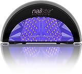 NailStar Lámpara LED Profesional Seca Esmalte de Uñas. Para Manicura Shellac y Gel, con...