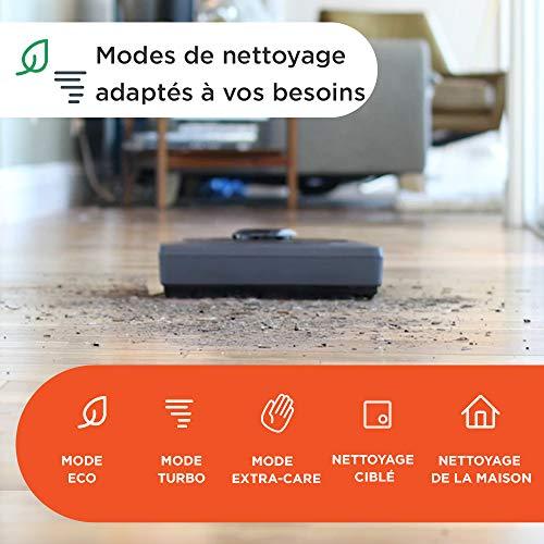 51faIwFFcPL [Bon Plan Neato] Neato Robotics D402 Connected - Compatible avec Alexa - Robot aspirateur avec station de charge, Wi-Fi & App
