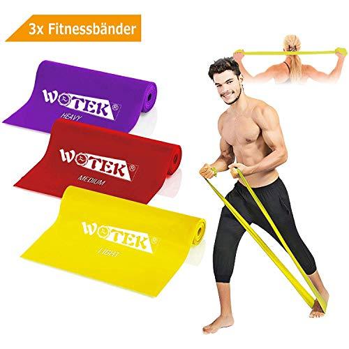 Fasce Elastiche Elastici Fitness Elastico Fitness Banda Elastica Loop Bands - 3xResistenza Elastico,...