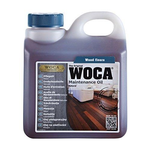 Woca 527310AA Olio protettivo per superfici, 1l, Naturale
