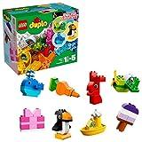 LEGO DUPLO - Mis Primeras Creaciones Divertidas, Juguete Preescolar Creativo de Construcción para Niños y Niñas de 1 Año y Medio a 5 Años con Piezas de Colores (10865)