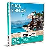 SMARTBOX - Fuga e relax -  Cofanetto Regalo Soggiorni e benessere   - 1 notte con colazione e 1 momento relax per 2 persone