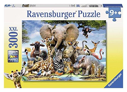 Ravensburger Italy Rav Pzl 300 Pz. Cuccioli D'Africa 13075, Multicolore, 878442
