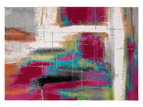 Arredo Carpet Milano Prestige Tappeto Stilizzato Multicolor moderno soft touch adatto per la camere...