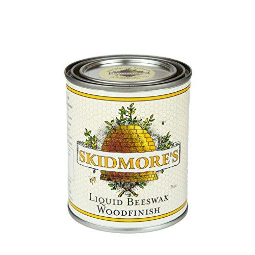 Skidmore's Cera d'Api Liquida Premium Finiture su Legno   Formula atossica e Naturale Che Lucida,...
