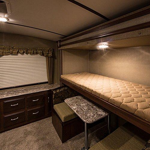 kohree plafonnier de camping car 12v lampe led ampoule voiture lumi re blanche eclairage. Black Bedroom Furniture Sets. Home Design Ideas
