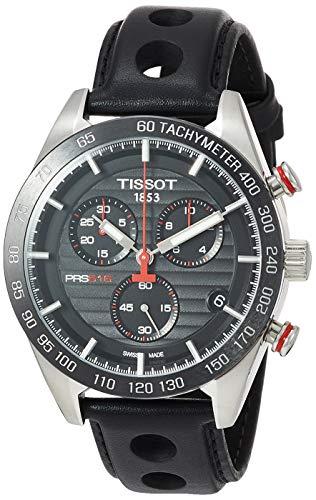 Tissot Herren-Uhren Analog Quarz One Size Leder 86963175