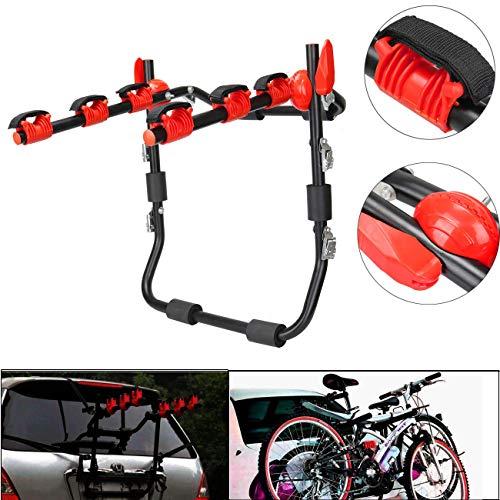 Honhill Universale 3 Portabici Auto Hitch Mount Bicicletta Portabici Posteriore Supporto Bike 3 Bici