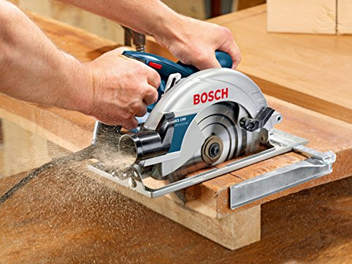 The Bosch GKS 190 Professional Circular Saw is one powerful tool and probably on par with our 'Best Pick' so is a great alternative to those who are loyal to the Bosch brand. It has a beast of an motor that is able to handle heavy duty work too.