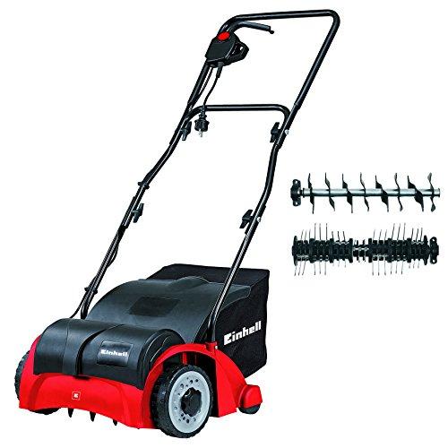 Einhell GC-SA 1231 Escarificador- aireador eléctrico, 1200 W, 230 V, Negro y Rojo (ref. 3420620)