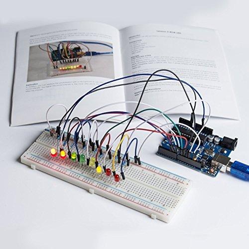 51g0bpRVJyL - SunFounder Starter Learning Kit para Arduino Principiante