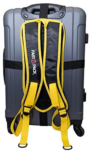 FastBpack Adattatore da Viaggio Che converte la Valigia in Uno Zaino. Travel Gear Suitcase to...