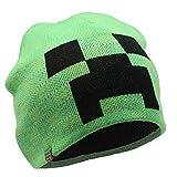 Minecraft. Cappello Creeper Bambino Cappelli per Ragazzo Invernali (M/L)