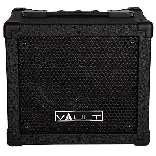 Vault Fury 15 Watt Digital Guitar Combo Amplifier with Effects and 36 pattern Drum Machine (15 Watt)