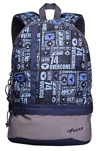 F Gear Burner 26 Liters P11 Sky Blue Casual Backpack 2