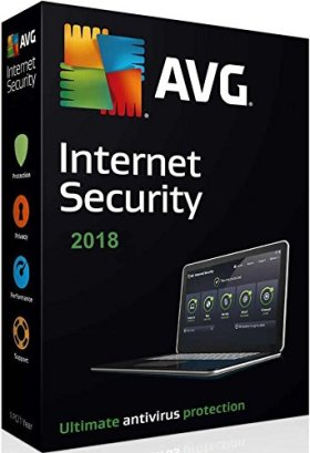 AVG Internet Security 2018 3 pc 2 year (download software link and Activation key) via Amazon Message, Delivery on same day. 3 User 2 year