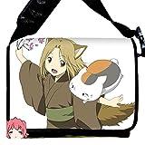 Miraclel Anime Cosplay sur toile Sac à dos Sac à bandoulière Sac à bandoulière 40cmx21cmx12cm Natsume Yuujinchou