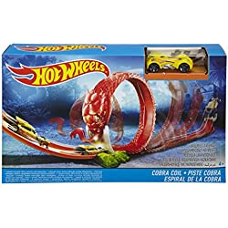 Hot Wheels DWK95 – Pista con depredador Cobra