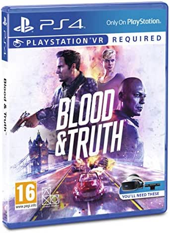 PS4 Blood & Truth PEGI Deutsch Playstation VR Playstation 4
