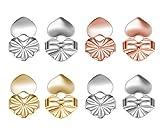 Filtro 4paia di orecchini ipoallergenico orecchini regolabile supporto, sicuro comfort Dream regalo per donne ragazza