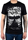 AWDIP Ufficiale t-shirt Phoenix Motionless in White Miw gothic Heavy Metal Band Black Large