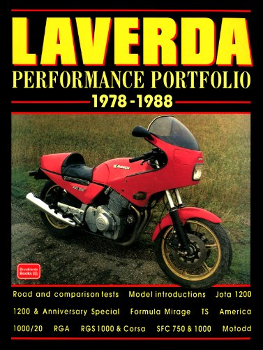 Laverda Performance Portfolio, 1978-88