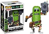 FunKo Animation and with Figurine Pop Vinyl Morty-Pickle Rick w/Laser, 27862, Multicolore, Standard