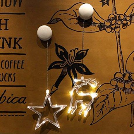 LEDMOMO-lumires-de-Nol–toile–Cinq-Branches-avec-lumire-pour-fentre-avec-Ventouse-et-Batterie-pour-dcoration-de-nol-lumire-Blanche-Pure
