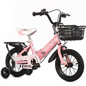 Qazxsw Plegable para niños Bicicletas 1-10 Año Viejo Chico y Chica Recorrido al Aire Libre Bicicletas Regalos de…
