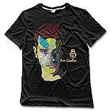 Nubia de hombre # 1Fútbol Portero Funny T-Shirt negro