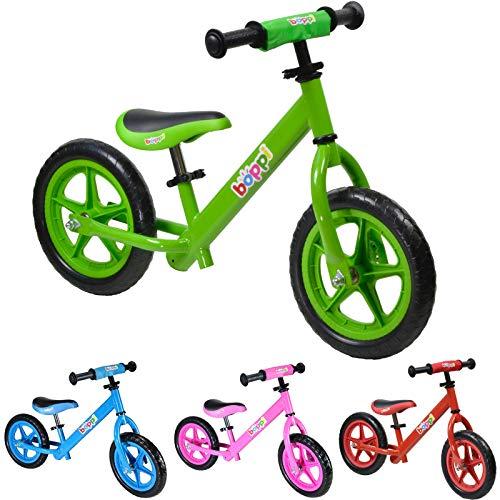 boppiBicicletta senza pedali in metallo 2-5 anni - Verde