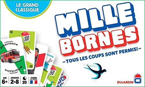 Dujardin – 59025 – Jeu de Cartes – Mille Bornes Le Grand Classique