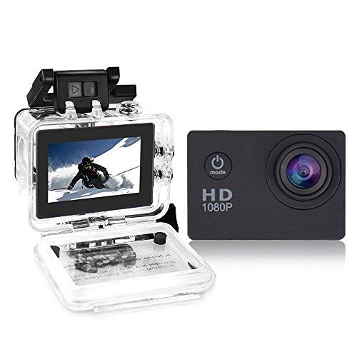 Yuntab fotocamera sport d'azione Action Sport Camera Full HD 1080P outdoor videocamera impermeabile...