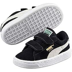 Puma, Sneakers Basses mixte enfant, Noir (Black/White), 22 EU