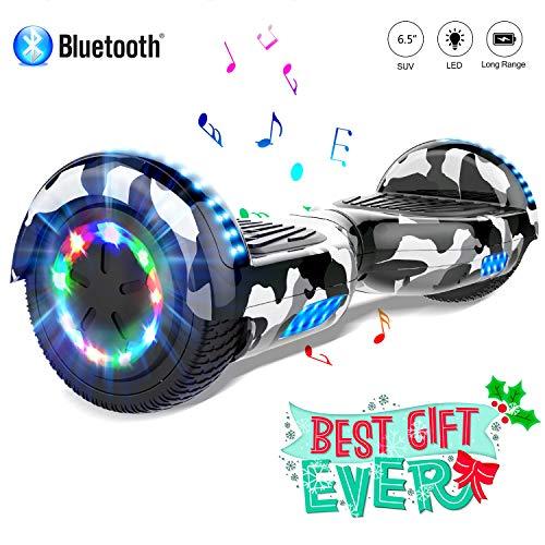 COLORWAY scooter 6.5'' Smart Scooter Auto Bilanciamento Bluetooth elettrico e LED Multicolor...