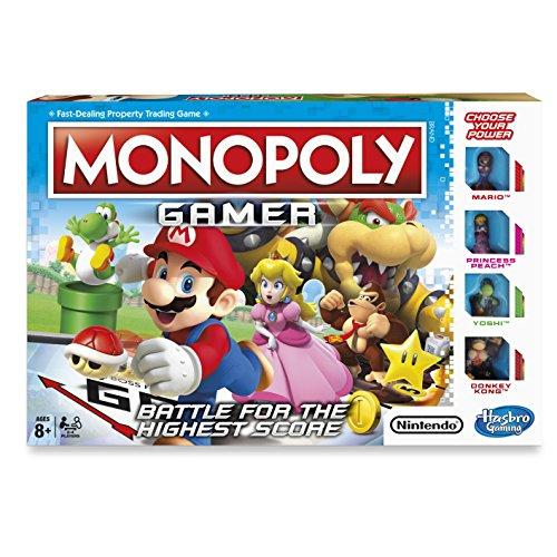 Hasbro Juego c18151020 Monopoly gamer