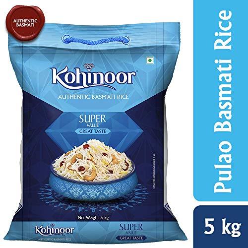 Kohinoor Super Value Basmati Rice, Blue 5kg