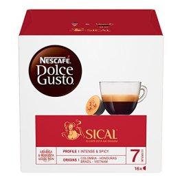 NESCAFÉ DOLCE GUSTO SICAL Caffè espresso 3 confezioni da 16 capsule (48 capsule)