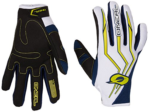 0392-209 - Oneal Element 2018 Motocross Gloves M Blue Yellow